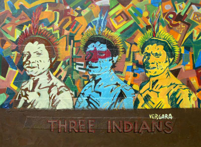 Hans Vergara-Three indians/><span class=